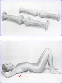 Massagerolle Anwendung AltaMajor® Produkte Shop